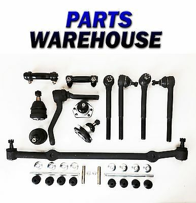 14 Pc Kit Ball Joint Tie Rod Center Link For Chevy Caprice Impala