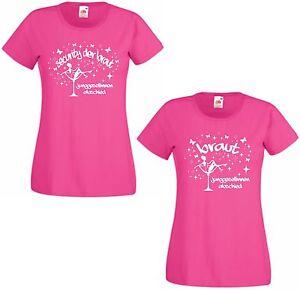 96a54ac75007aa Das Bild wird geladen Junggesellinnenabschied-Shirt-Damen-T-Shirt-pink -JGA-Security-
