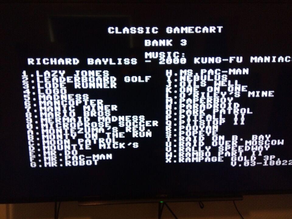 Commodore Game Cart, tilbehør, Perfekt