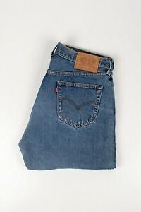 30427 Levi 'S Levi Strauss 517 Blau Herren Jeans IN Größe 34/34