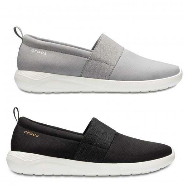 Crocs Crocs Crocs 205103 literide Slipon señoras para mujer cómodos Zapatos Zapatillas Bajo Top Casual  salida