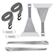 Abspannset 8 tlg. grau für Sack & Kasettenmarkisen Kederbefestigung