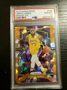 2019-20-Prizm-LeBron-James-Orange-Ice-Prizms-129-PSA-10-GEM-MINT-Lakers-D1