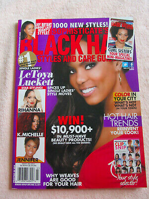 Sophisticate S Black Hair Magazine Styles And Care Guide 2018 For Sale Online Ebay