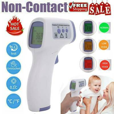 No Touch Infrared Digital Forehead Thermometer Adult Baby Body Temperature Gun G