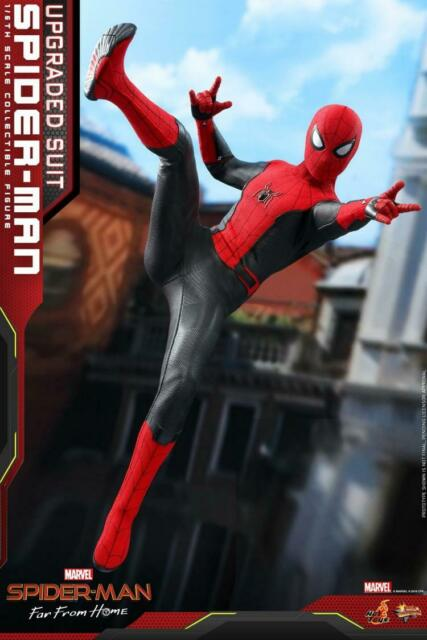 Hot Toys HT 1:6 MMS542 Spider-Man Far From Home Upgraded Suit Action Figure Doll