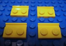 LEGO 4 New 1x2 Modified Plates with Door Rail Yellow Star Wars 2010 9-14 32028