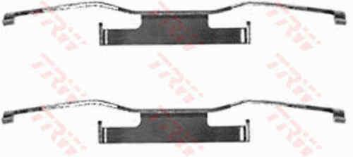 TRW Front Brake Pad Fitting Kit PFK84 GENUINE BRAND NEW 5 YEAR WARRANTY