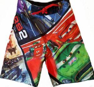 XS Size 4 Lightning McQueen Swim Suit NWT Disney Stores Free Ship