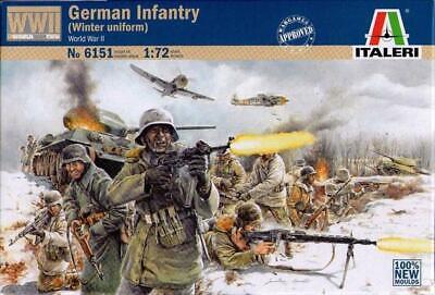 Focoso Italeri - German Infantry - Winter Uniform (world War Ii) - 1:72 - 6151