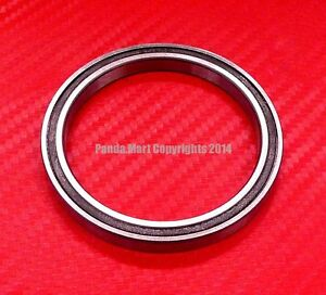 4 pcs 6818-2RS (90x115x13 mm) Black Rubber Sealed Ball Bearing Bearings 6818RS