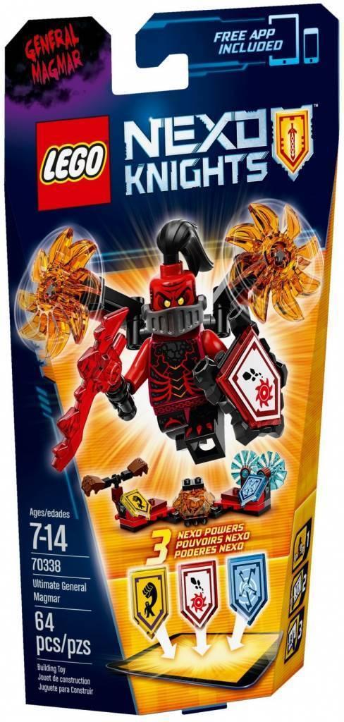 LEGO Nexo Knights 70338 optimal général Magma ultimate robot armure