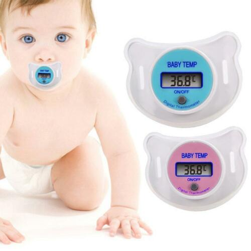 NEW DIGITAL DUMMY SOOTHER PACIFIER BABY TODDLER CHILD ORAL THERMOMETER PORTABLE
