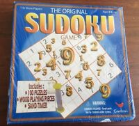 The Original Sudoku Game New/sealed With Wooden Number Tiles