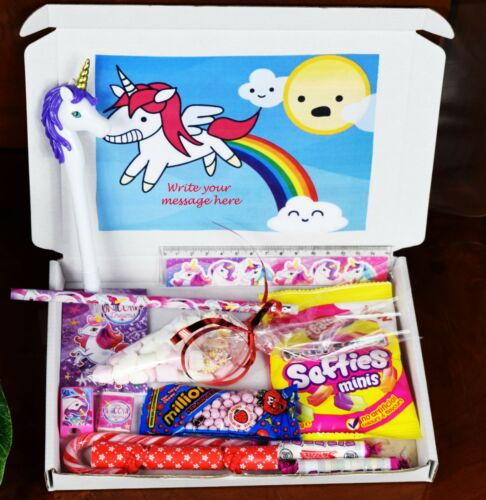 Personalised Unicorn Gift Hamper for Kids New Year or Birthday Gift
