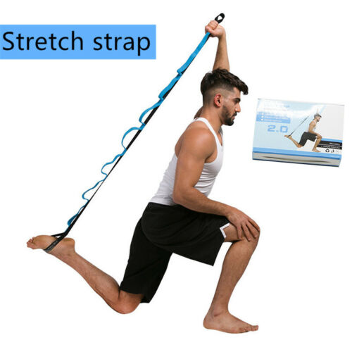 Great Resistance Elastic Bands Yoga Stretching Belt Latin Dance Pull Strap Gym