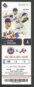 MATT-HARVEY-New-York-Mets-Ticket-Stub-JUN-14-2015-VS-NATIONALS