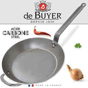 de-Buyer-Carbone-PLUS-Lyonnaise-Bratpfanne-50-cm