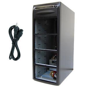 7-Burner-9-Bay-SATA-CD-DVD-Duplicator-Copier-Enclosure-Case-Tower-Replicator