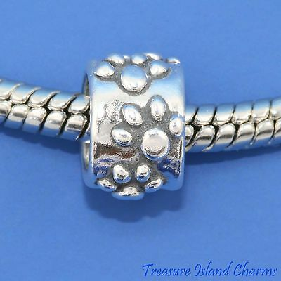 SPACER BEADED .925 Solid Sterling Silver EUROPEAN EURO Bead Charm