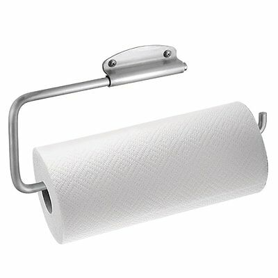 InterDesign Swivel Wall Mount Paper Towel Holder, Brushed Stainless Steel, New