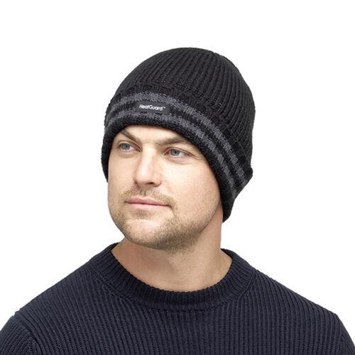 HeatGuard Homme À Grosses Mailles Bonnet Avec Thinsulate Doublure