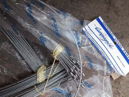 NOS  Campagnolo Nuovo /<c/> Record logo front inner brake cable wire x1
