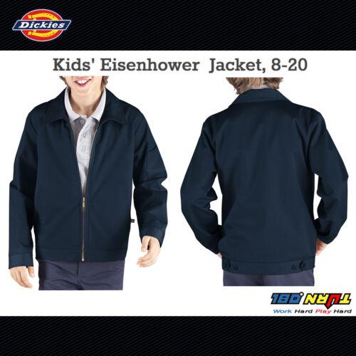 3 color KJ903 Full Zip Fleece Size 8-20 Dickies Boys Kids Eisenhower Jacket