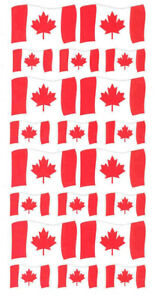 Canadian-Flag-Stickers-The-Flag-of-Canada-Maple-Leaf-l-039-Unifolie