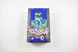 Unopened-New-1991-Fleer-039-91-Ultra-Baseball-MLB-Vintage-Trading-Card-Box-36-Count