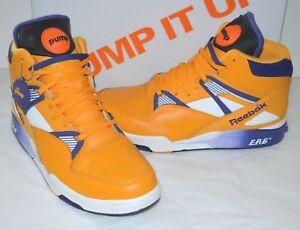 7d90386a52e VNDS Reebok The Pump Omni Zone ERS Retro The Lakers Gold Violet ...