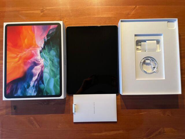 Apple iPad Pro 4. Gen 128GB, Wi-Fi + 4G (Ohne Simlock), 12,9 Zoll - Space Grau