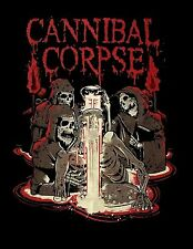 CANNIBAL CORPSE cd lgo ACID Official SHIRT MED New death metal