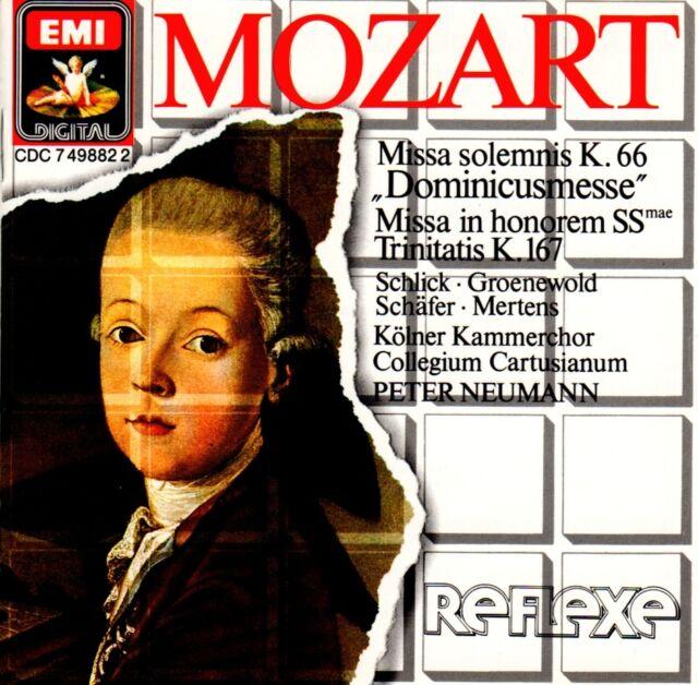 Wolfgang Amadeus Mozart (1756-1791) • Missa solemnis K.66 CD • Peter Neumann Geb