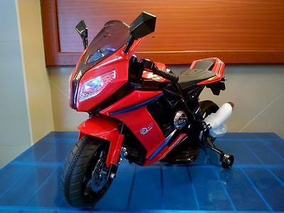 Amichevole Motocicletta Moto Elettrica Per Bambini Cbr Elettrica 12 Volt