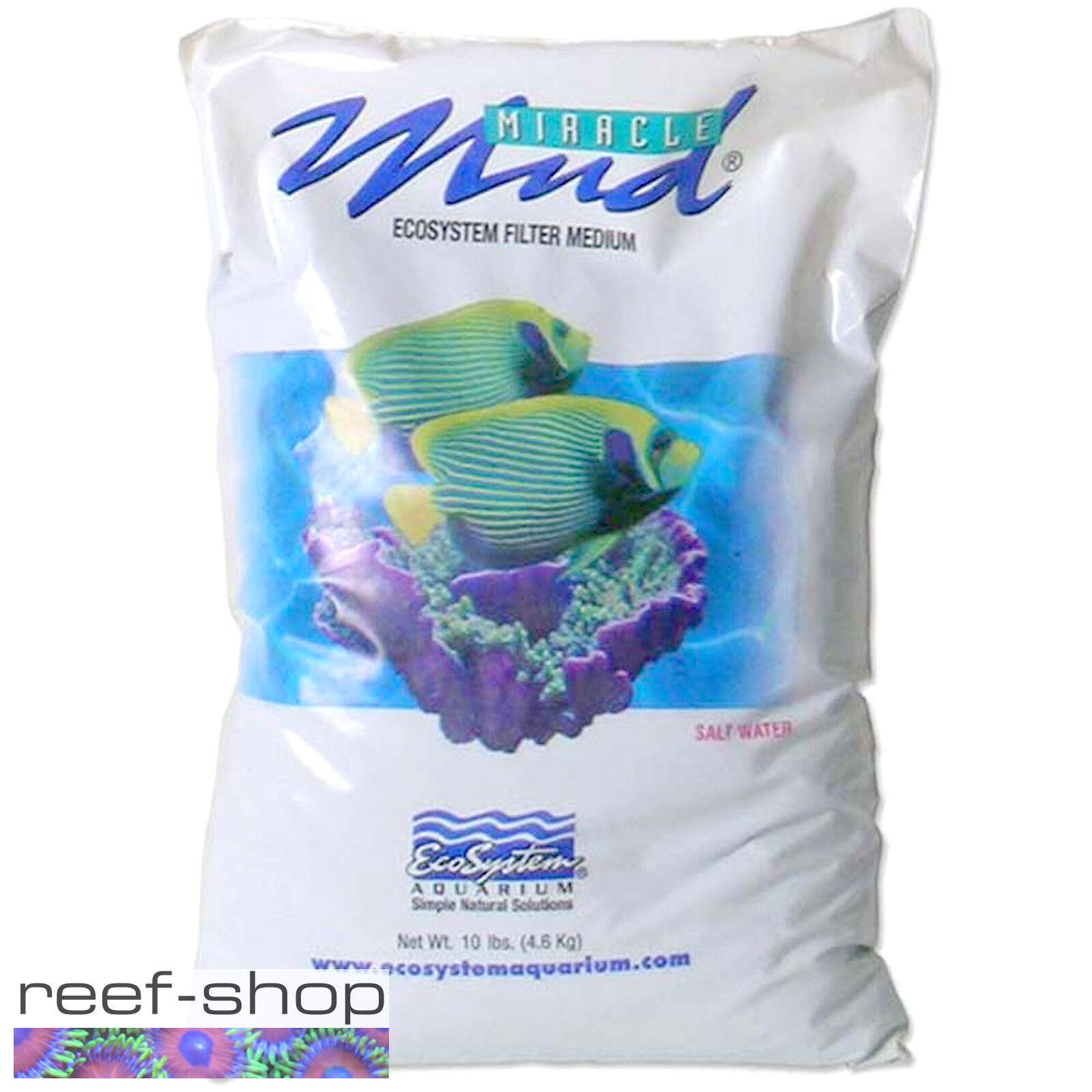 EcoSystem Miracle Mud 10 lb Bag Refugium Aquarium Substrate Free USA Shipping