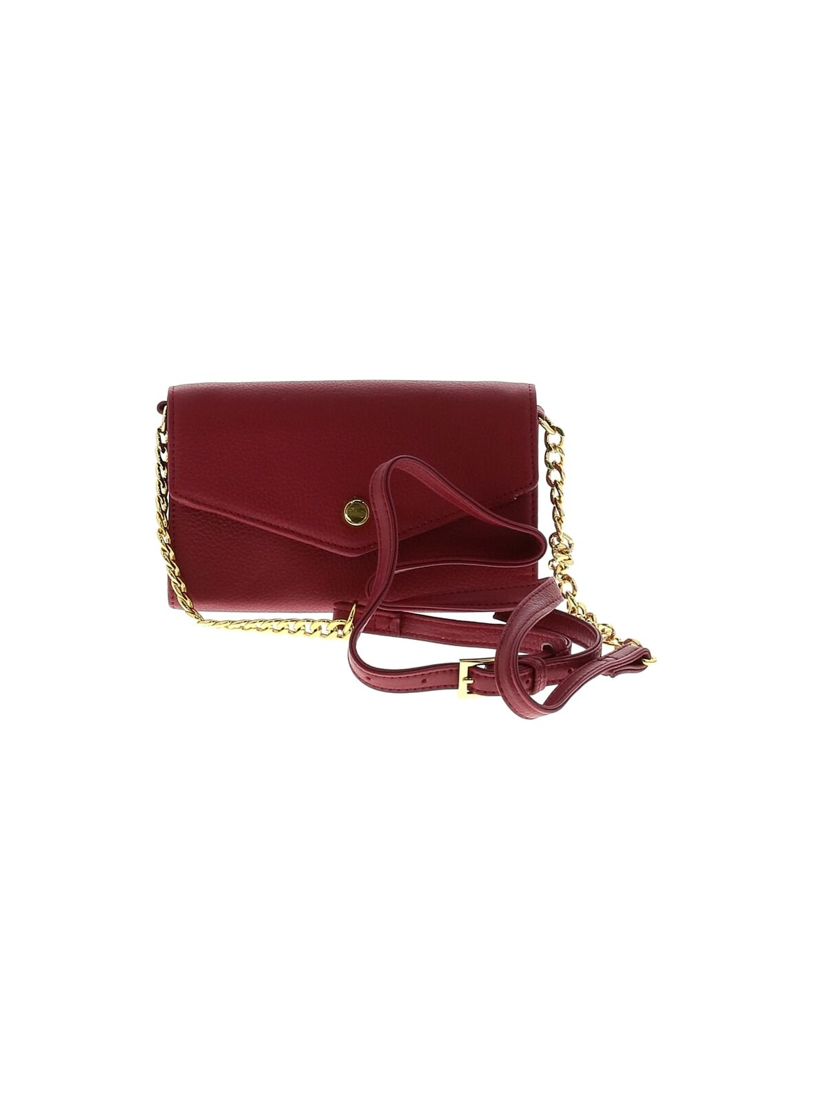 Stella & Max Women Red Leather Crossbody Bag One Size