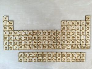 Corte lser de madera tabla peridica de elementos ebay corte laser de madera tabla periodica de elementos urtaz Gallery