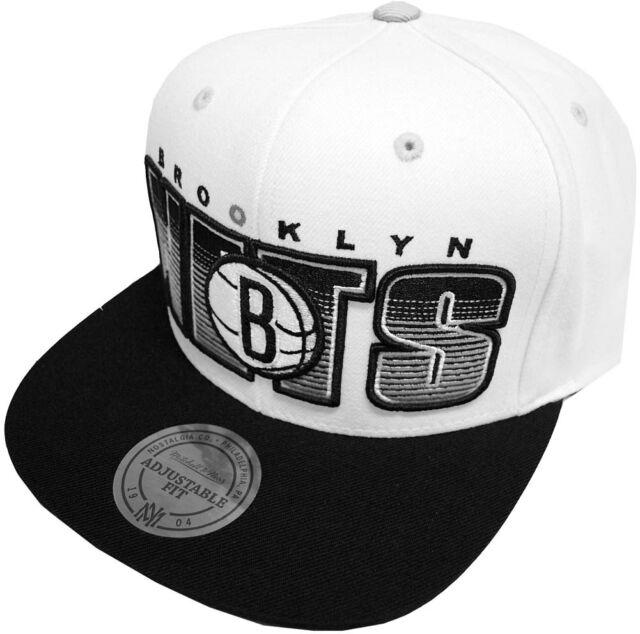 bdc66a768df Mitchell   Ness NBA Brooklyn Nets Home Stand Snapback Caps nu21z Cap  Basecaps