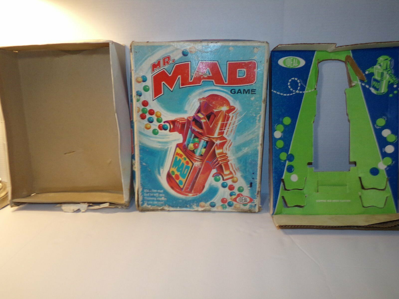Vintage 1970 IDEAL Game MR MAD 100% Complete w  BOX Tested & WORKS Super CLEAN