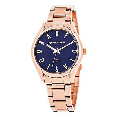 Reloj oro rosa mujer  esfera marino
