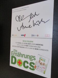 73020-Die-ERnaehrungs-Docs-TV-Musik-Film-original-signierte-Autrogrammkarte