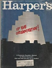 MARCH 1960 HARPERS magazine UP THE ORGANIZATION