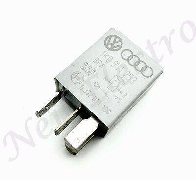 VW AUDI SEAT SKODA CONTROL RELAY GREY PIN-4 GENUINE 1K0951253 TYCO