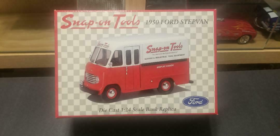 1950 FORD STEP VAN SNAP-ON TOOLS NEW IN BOX