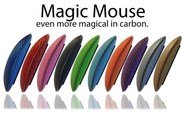 Textured Carbon Fibre Skin For APPLE MAGIC MOUSE Wrap Cover Sticker Protector