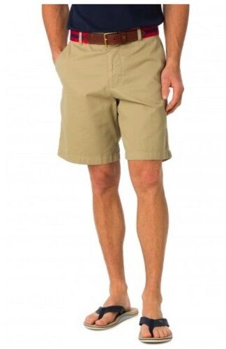 "Southern Tide Men/'s 9/"" Skipjack Short Sandstone Khaki"
