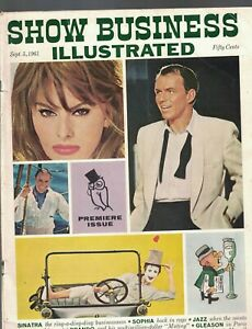 Show Business Illustrated September 5 1961 FIRST ISSUE Sophia Loren Mr Magoo