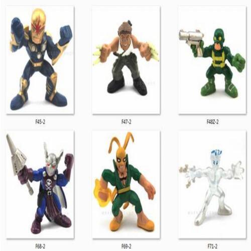 Random 10 Marvel Super Hero Squad Figure Captain America Spider-man X-men M287X2