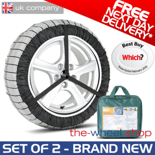 Silknet 80 Car Snow Socks 215//60 R17 Free Delivery 215 60 17 Tyre